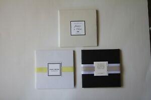 DIY Hardcover folded Invitation wedding- shimmer white, champagne, black