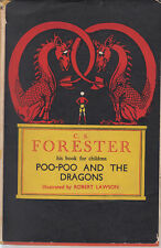 1942 book ~ Poo-poo and the dragons by C S Forester & illustrated Robert Lawson