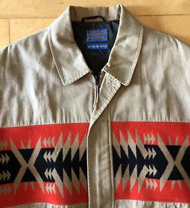 Vintage PENDLETON Mens XL Jacket High Grade Western Wear Native American design
