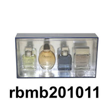 Calvin Klein 4pc Mini Gift Set Eternity Obsession Euphoria Aqua  Cologne for Men