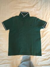 Fred Perry Men's Polo Shirt M Medium Green Casual Mod Uk Style Britain