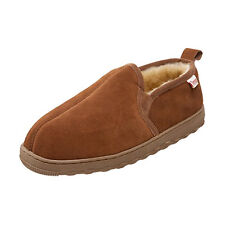Tamarac Men's 8014MW Cody Sheepskin Dyed Lamb Fur Loafer Moccasin Slippers 10M