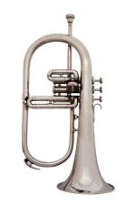 NEW SUPER QUALITY SOUND! Bb FLAT FLUGEL HORN WITH FREE CASE+M/P+ 5 DAYS DELIVERY