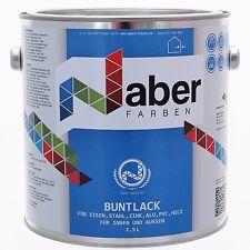 (7,99 €/L) 2,5 L Buntlack RAL 4005 - BLAULILA - Seidenglanz