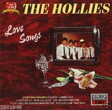 THE HOLLIES LOVE SONGS 22 TRACK ALBUM (CD) IN EX-COND. L@@K!