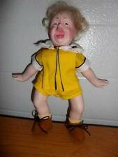 """Norman Rockwell ~ """"JR"""" Character Doll 9"""" Collector's Edition 1981, Germany"""