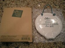 """Russ Celtic Blessings Ornament """"May Your Years Together be Filled with Joy"""" New"""