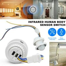 AC PIR Infrared Body Motion Sensor Detector 110/220V Control Switch Light Lamp