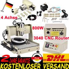 4Achse 3040 CNC Router Graviermaschine Fräsmaschine 800W Gravurmaschine Fräse