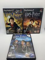 Lot Of 3 PS2 Harry Potter Games Sony Playstation 2 (2002-2005) Tested & Working