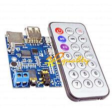 MP3 + wav + wma decoder board 2W amplificateur tf carte audio aux avec télécommande ir