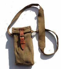 VINTAGE ITALY ITALIAN ARMY 37 PATTERN BAG / AMMO POUCH & SHOULDER STRAP