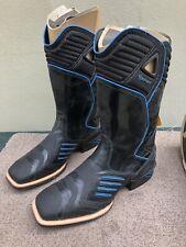 NIB Ariat Catalyst VX Men's Black & Blue Leather Riding Boots, US11EE