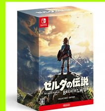 Zelda Breath of the Wild Collector's Edition Game Nintendo Switch Japan