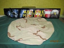 Military Pack, Spare Tire cover Army 3 Color Desert Camo