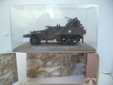 ATLAS  1/43   HALFTRACK avec mitrailleuse Maxxon     neuf en boite