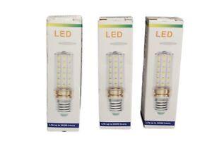 E12 LED Candelabra Bulbs 100 Watt Equivalent Daylight White 6000K 3 Pack