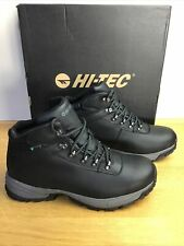 HI-TEC Hiking Walking  EUROTREK LITE Waterproof Leather Men's Ladies Boots UK 10