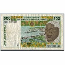 [#600340] West African States, 500 Francs, Signature 31. (20)02, Km:710Km