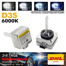 2x D3S 6000K 35W Xenon Brenner Scheinwerfer Lampe Für Audi A1 A3 A4 A5 A6 Q7 Neu