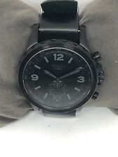 Fossil FTW1115 Men's Analog Black Dial Hybrid Smart Watch With Custom Band QB129
