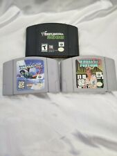 Lot Of 3 N64 games
