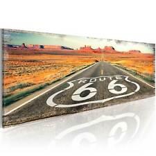 XXL BILDER KUNSTDRUCK 600355P WANDBILDER Route 66 VLIES LEINWAND BILD