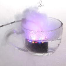12LED Ultrasnic Fountain Mist Maker Atomizer Fogger Pond Aquarium W/ US Adaptor