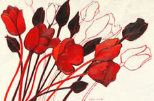Reproduction Modernism Red Art Prints