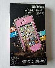 New LifeProof Fre wasserdichte Schutzhülle für Apple iPhone 4/4s-pink/grau-versiegelt