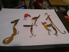 Lot Of 7 Spinner Lures With Some Vintage