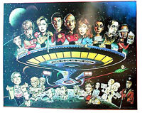 Original 1987 Star Trek Next Generation Parody/Comedy Poster - WAREHOUE FIND!