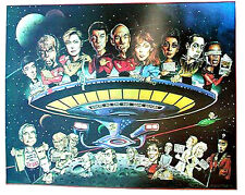 Original 1987 Star Trek Next Generation Parody/Comedy Poster - WAREHOUE FIND!