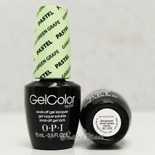 OPI GelColor PASTEL GC 103 GARGANTUAN GREEN GRAPE 15mL UV LED Gel Nail Polish