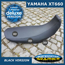 """NEU YAMAHA XT 660 X R """"DELUXE"""" SITZÜBERBEZUG Seat Cover passend für XT660 R X"""