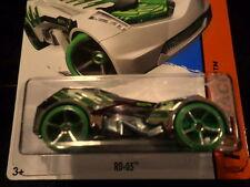 HW HOT WHEELS 2015 HW RACE #165/250 RD-03 HOTWHEELS CHROME RACE TRACK READY VHTF