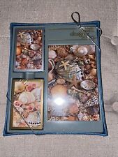 2 Sets Sea Shells Deck Playing Cards with Note Pad New