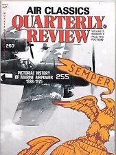 AIR CLASSICS Quarterly Review FALL 1975, Marine Airpower 1938-1975 G