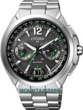 CITIZEN EcoDrive Watch,SATELLITETimekeeping,WorldTime,SapphireG,WR100,CC1090-52F