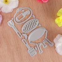 Metall Stanzformen Schablone Für Scrapbooking DIY Karte Machen Picknick Set