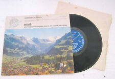 """SOLI DEO GLORIA Messaggio di Salute - Vinyl, 10"""", 33 ⅓ RPM - M33 MSD 5501"""