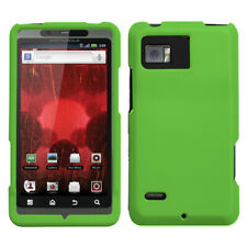 For XT875 Droid Bionic Dr Green Phone Protector Cover (Rubberized)