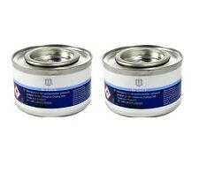 (16,10€/kg) 2x 200g Brennpaste Brenngel Speisenwärmer Chafingdish Gastrobedarf