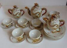 service à thé-café dragon 6 personnes*