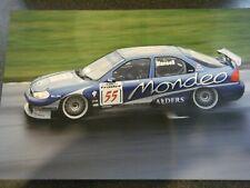 NIGEL MANSELL FORD MONDEO DONINGTON 1998 BTCC SUPER SIZE PHOTOGRAPH #55 WET