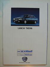 Prospekt Lancia tema/Station Wagon UI/16v/Turbo 16v/v 6/td, 7.1991, 42 S.