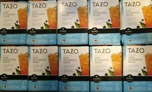 Tazo Sweetened Iced Blushberry Black Tea Keurig K-Cup 160 Ct. * BB 4/2016