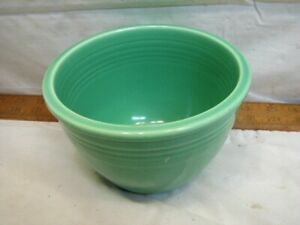 Fiesta Ware Small Green #2 size Nesting Vintage Pottery Mixing Bowl