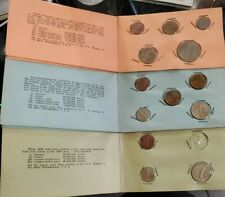 1958 1959-1960 1962 Philippines Proof Coin Sets  ~Missing 1962 5¢ Coin