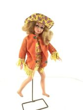 Vintage MATTEL BARBIE DRAMATIC LIVING SKIPPER DOLL in Mod Outfit 1970